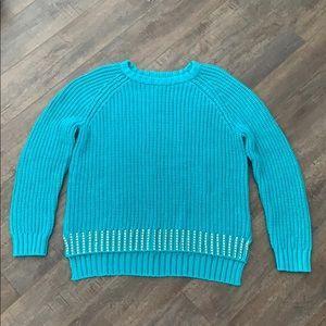 Michael Kors Teal Sweater